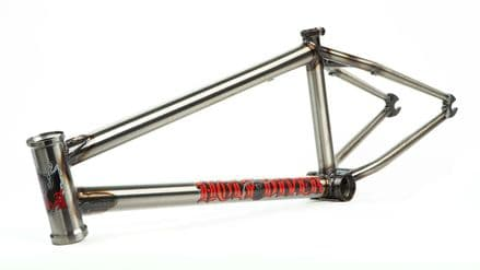 """S&M Holy Diver Frame 20.5"""" Trans Gloss Clear"""